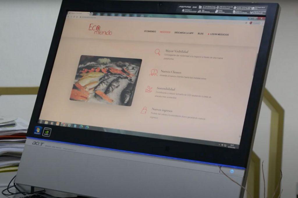 Presentación Ecomiendo en Zamora News
